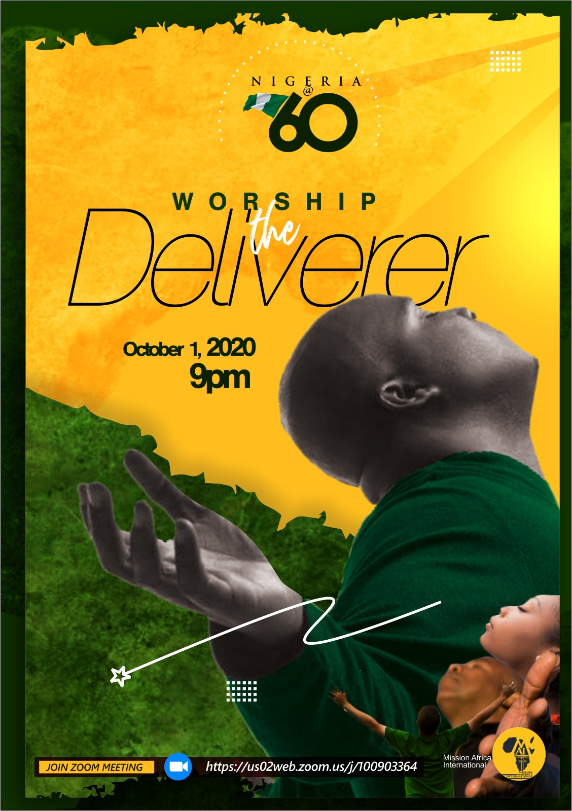 Worship the deliverer Nigeria @ 60 Mission Africa International